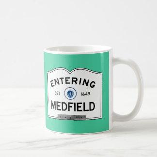 Entering Medfield Basic White Mug