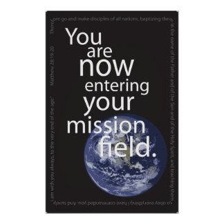 Entering Mission Field Poster