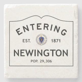 Entering Newington Marble Coaster Stone Coaster