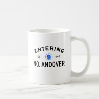 Entering North Andover Coffee Mug