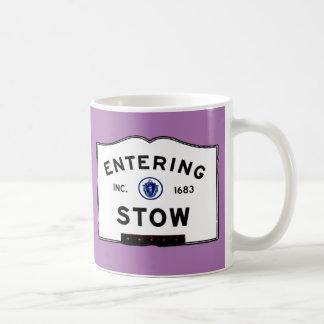 Entering Stow Coffee Mug