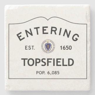 Entering Topsfield Marble Coaster Stone Coaster