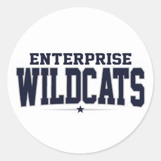Enterprise High School; Wildcats Sticker