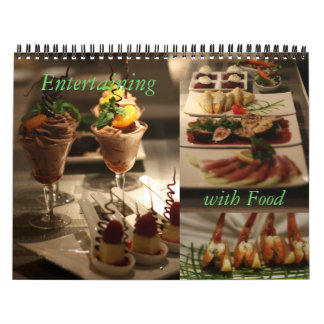 Entertaining with Food Wall Calendar