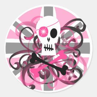 Entice ~ classic round sticker