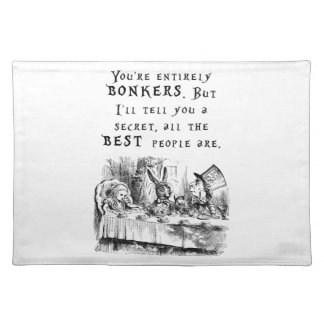 entirely bonkers A4 Placemat