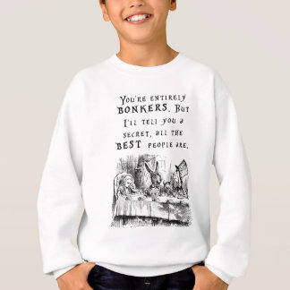 entirely bonkers A4 Sweatshirt