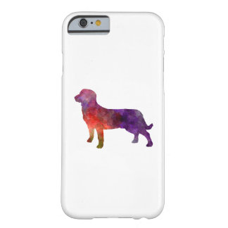 Entlebuch Cattle Dog in watercolor Barely There iPhone 6 Case