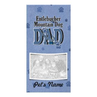 Entlebucher Mountain Dog DAD Picture Card