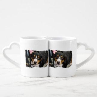 Entlebucher Mountain Dog Couples Mug