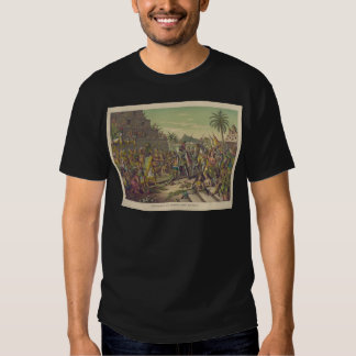 Entrance of Hernan Cortez into Mexico Nov 8th 1519 T Shirts