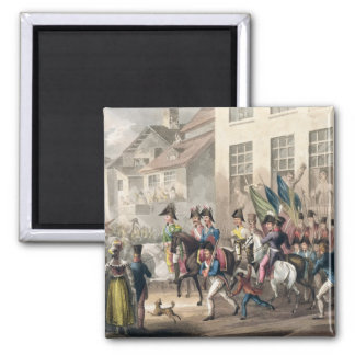 Entrance of the Allies into Paris, March 31st 1814 Magnets