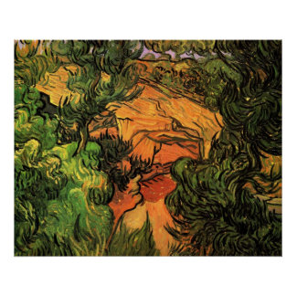 Entrance to a Quarry by Vincent van Gogh Poster