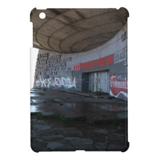 Entrance to Buzludzha, Balkan Mountains, Bulgaria iPad Mini Cover