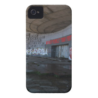 Entrance to Buzludzha, Balkan Mountains, Bulgaria iPhone 4 Cover