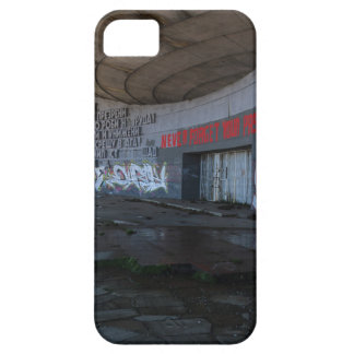 Entrance to Buzludzha, Balkan Mountains, Bulgaria iPhone 5 Case