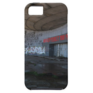 Entrance to Buzludzha, Balkan Mountains, Bulgaria iPhone 5 Cover