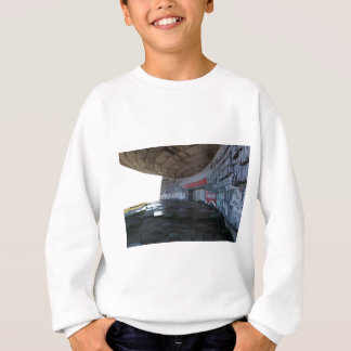 Entrance to Buzludzha, Balkan Mountains, Bulgaria Sweatshirt