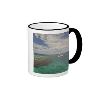 Entrance to famous Blue Hole Ringer Coffee Mug
