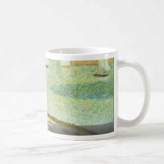Entrance To Port-En-Bessin By Seurat Georges Mugs