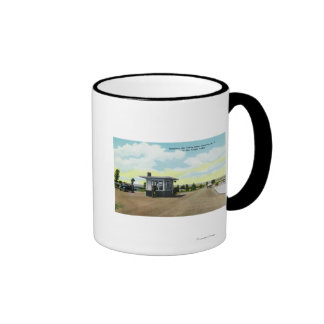 Entrance to Sampson Air Force Base View Coffee Mugs