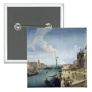 Entrance to the Grand Canal Pinback Button