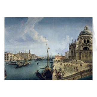 Entrance to the Grand Canal Greeting Card
