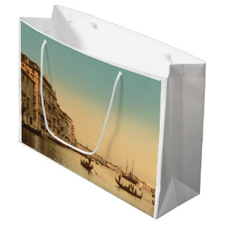 Entrance to the Grand Canal I, Venice, Italy Large Gift Bag