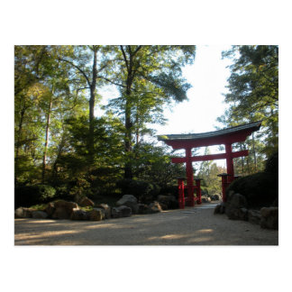 Entrance to the Japanese Gardens Postcard