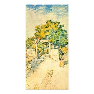 Entrance to the Moulin de la Galette by van Gogh Photo Cards