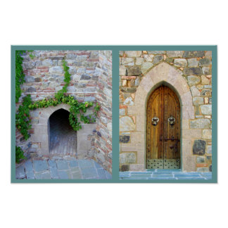 Entrances to Nappa Valley Winery Poster