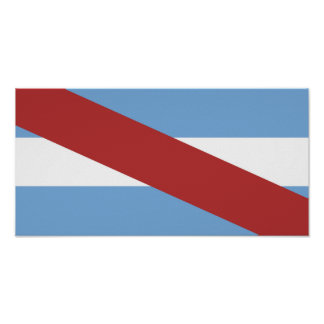 Entre Rios flag Argentina region province symbol Poster