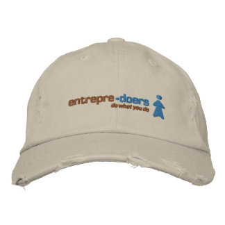 Entrepredoers Fun Wear Embroidered Hat