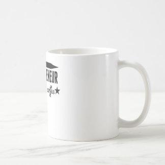 Entrepreneur Fueled By Coffee Basic White Mug