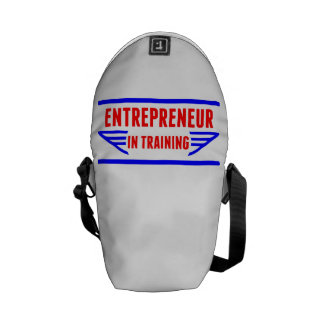 Entrepreneur In Training Courier Bags