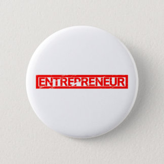 Entrepreneur Stamp 6 Cm Round Badge