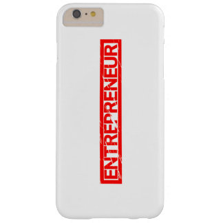 Entrepreneur Stamp Barely There iPhone 6 Plus Case