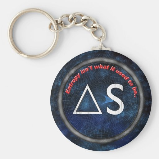 Entropy isn't what it used to be keychains