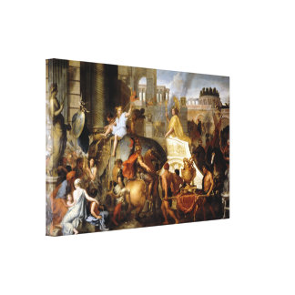 Entry of Alexander into Babylon Canvas Print