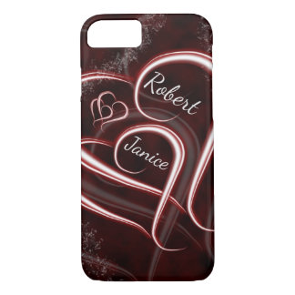 Entwined Forever Lovers' Hearts iPhone 8/7 Case
