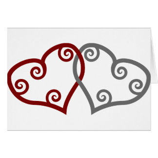 Entwined Hearts Kindness Matters Card