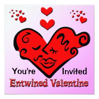 Entwined Valentine Invitation