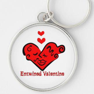 Entwined Valentine Keychain