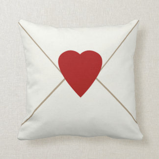 Envelope and Heart Pillow