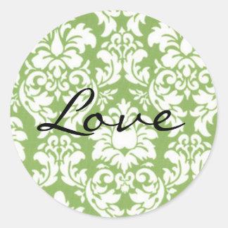 Envelope Closure Seal, Wedding Round Sticker