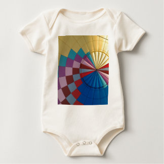Envelope hot air balloon baby bodysuit