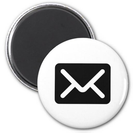 Envelope Icon Magnet