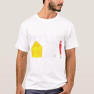 Envelope Paper And Pencil Mens T-Shirt
