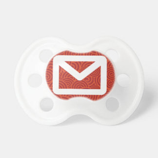 Envelope Patterns Symbol Baby Pacifier