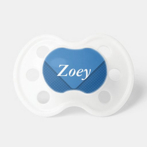 Envelope Personalize Blue Pacifier